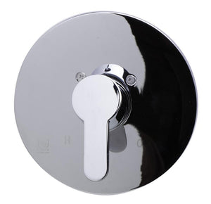 Alfi Brand AB3001 Shower Valve with Lever Handle & Flange Polished/Brushed