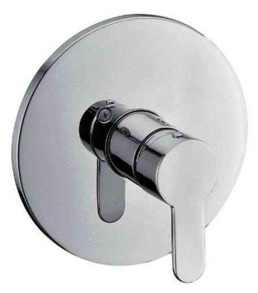 Buy Alfi Brand AB3001 Shower Valve with Lever Handle & Flange Polished/Brushed - Zen Tap Sinks - 1