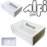 "Buy Alfi Brand AB3018SB - 30"" Smooth Solid Thick Wall Fireclay Single Bowl Farm Sink"