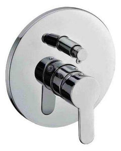 Buy Alfi Brand AB3101 Single Lever Bath Shower Valve Diverter Polished/Brushed - Zen Tap Sinks - 1