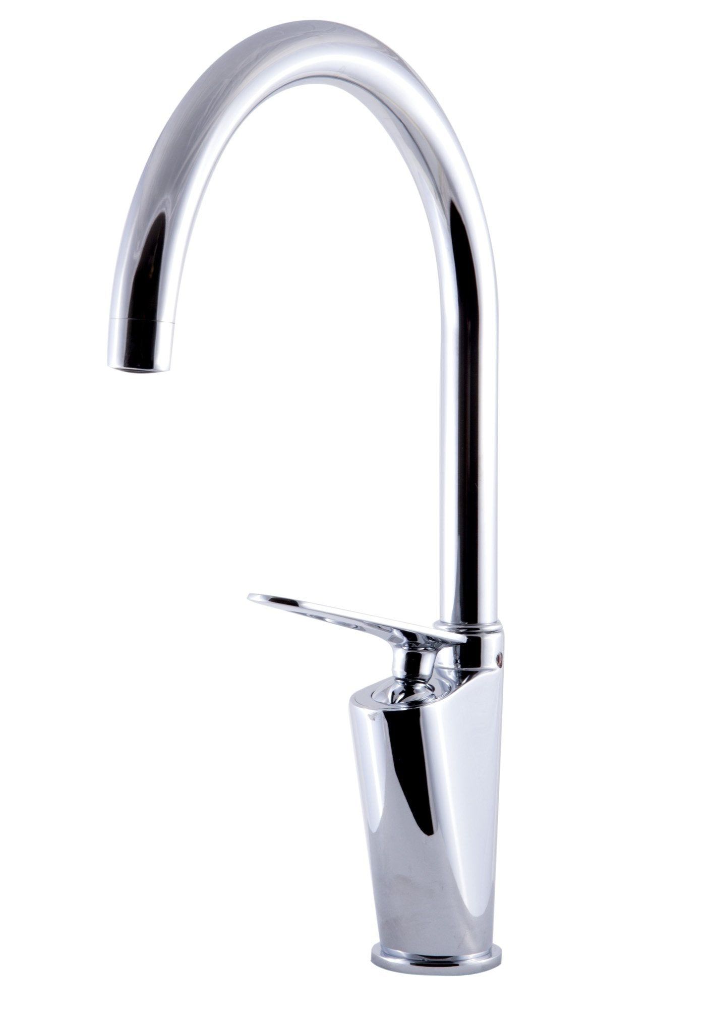 ALFI brand AB3600 Gooseneck Single Hole Bathroom Faucet