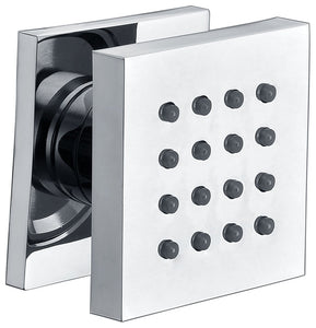 ALFI brand AB4501 Modern Square Adjustable Shower Body Spray