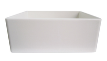 "ALFI brand AB505 26"" Contemporary Smooth Fireclay Farmhouse Kitchen Sink - Zen Tap Sinks - 4"