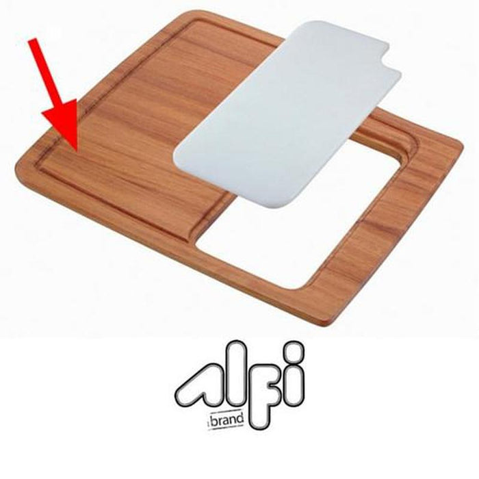 Alfi Brand AB50WCB Rectangular Wood Cutting Board with Hole for AB3520DI