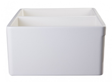 "ALFI brand AB539 32 3/4"" Lip Double Bowl Fireclay Farmhouse Apron Kitchen Sink - Zen Tap Sinks - 5"
