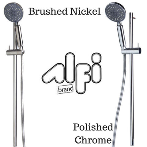 Alfi Brand AB7938 Sliding Rail Hand Shower Set in Polished or Brushed
