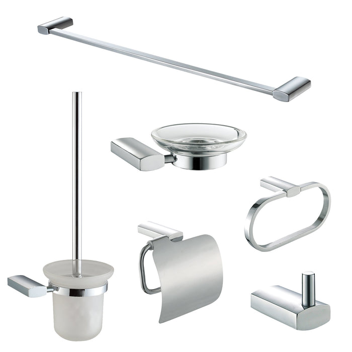 ALFI brand AB9503 6 Piece Matching Bathroom Accessory Set