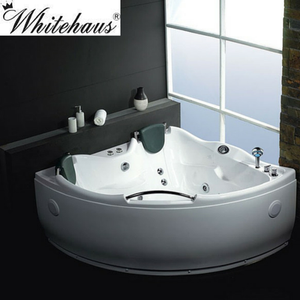 Buy EAGO AM125/AM125HO 5' Double Corner Acrylic White Whirlpool Bathtub W/O Inline Heater