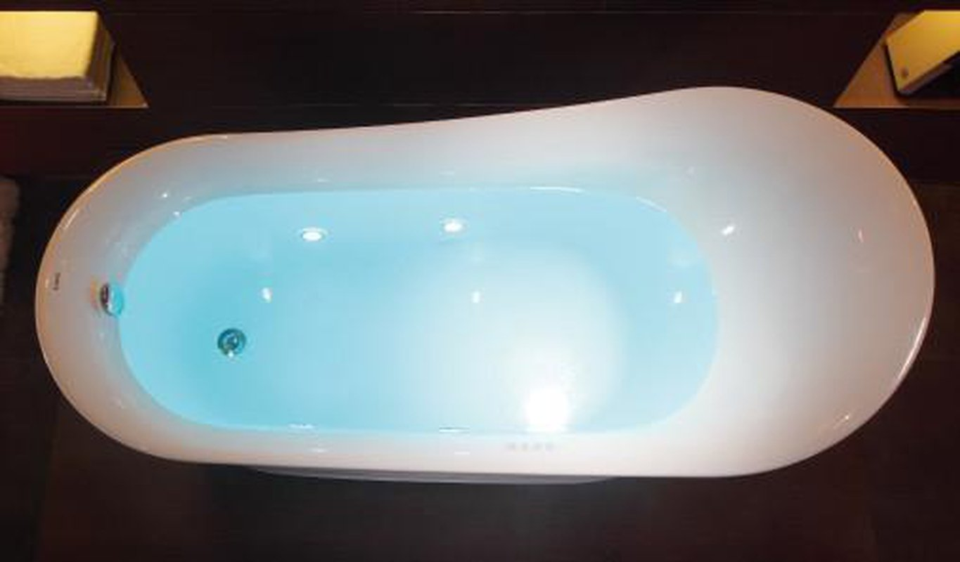 EAGO AM2140 Six Foot White Free Standing Air Bubble Bathtub – Zen ...