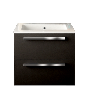 Latoscana AM24OPT1 Ambra 24 inch Bathroom Vanity with 2 Slow Close Drawers
