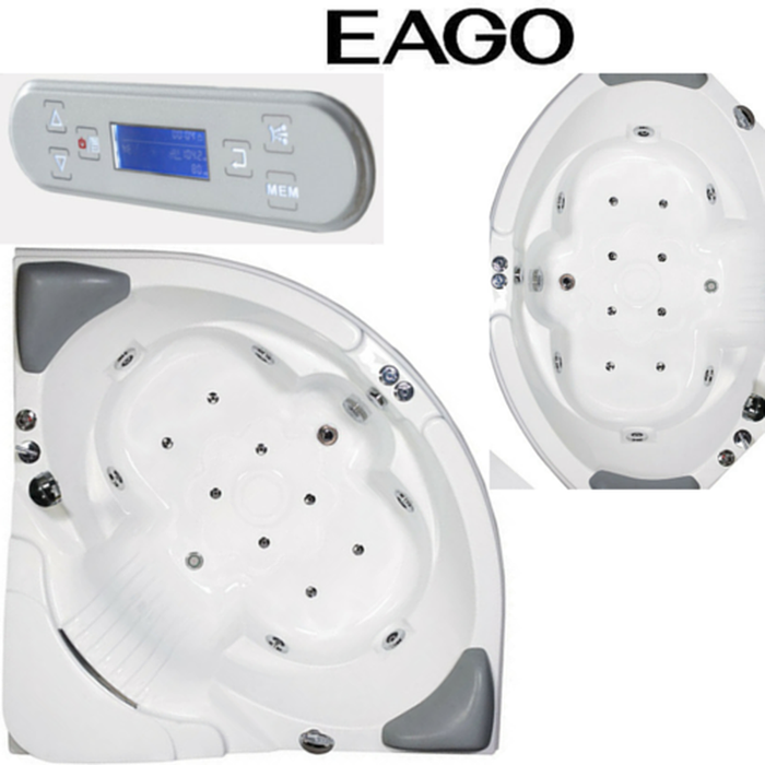 Buy EAGO AM505 / AM505HO 5' CORNER WHIRLPOOL BATH TUB WITH HEATER & OZONE