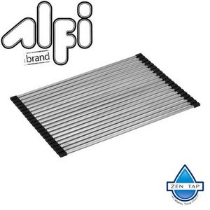 "ALFI brand ABDM1813 18"" x 13"" Modern Stainless Steel Drain Mat for Kitchen"