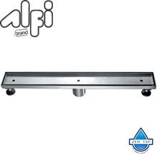 "ALFI brand ABLD24 24"" Long Modern Stainless Steel Linear Shower Drain"