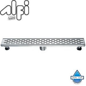"ALFI brand ABLD36 36"" Modern Stainless Steel Linear Shower Drain"