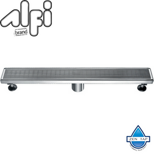 "ALFI brand ABLD32 32"" Modern Stainless Steel Linear Shower Drain"