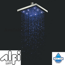 ALFI brand LED8S 8 Inch Square Multi Color LED Rain Shower Head