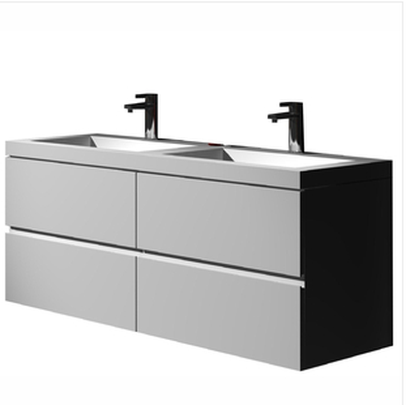 Buy Online Control Brand - The Gerhard True Solid Surface Sink And Cabinet [BW6192WHT] - Zen Tap Sinks