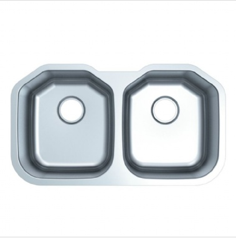 Buy Double Bowl Stainless Steel Kitchen Sink 9 - Zen Tap Sinks - 1