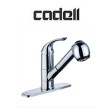 Buy Cadell Deck Mounted One Lever Handle Kitchen Faucet with Pull Out