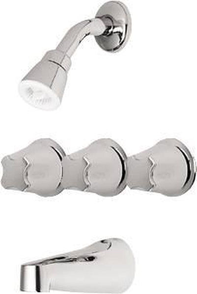 PRICE PFISTER VERVE TUB AND SHOWER FAUCET SWEAT