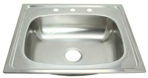 PROPLUS® 3-HOLE SINGLE BOWL KITCHEN SINK