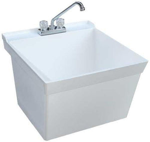 SWAN® MF-4F VERITEK® WALL-MOUNTED LAUNDRY TUB