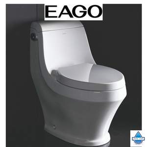 EAGO TB133 Single Siphonic Flush One Piece Ceramic Toilet
