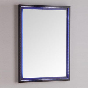 "Fresca Platinum Due 24"" Glossy Bathroom LED Mirror"