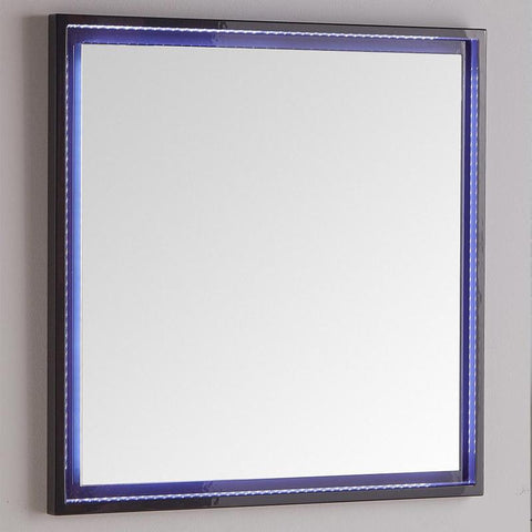 "Fresca Platinum Due 32"" Glossy Bathroom LED Mirror"