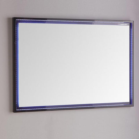 "Fresca Platinum Due 48"" Glossy Bathroom LED Mirror"