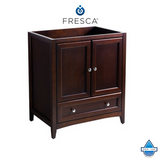 "Fresca Oxford 30"" Traditional Bathroom Cabinet"