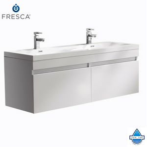 Fresca Largo Modern Bathroom Cabinet w/ Integrated Sinks