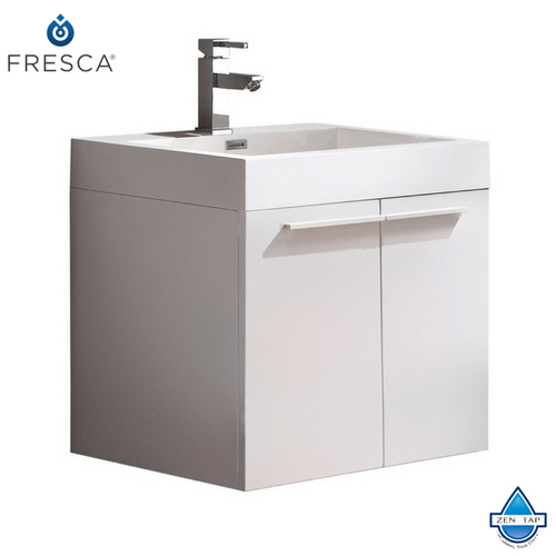 Fresca Alto Modern Bathroom Cabinet w/ Integrated Sink