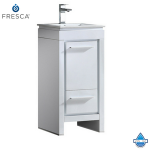 "Fresca Allier 16"" Modern Bathroom Cabinet w/ Sink"