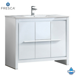 "Fresca Allier 40"" Modern Bathroom Cabinet w/ Sink"