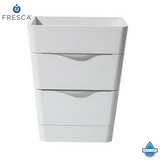 "Fresca Milano 26"" Modern Bathroom Cabinet w/ Integrated Sink"