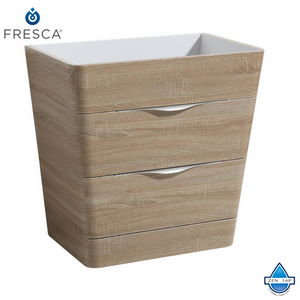 "Fresca Milano 32"" Modern Bathroom Cabinet w/ Integrated Sink"