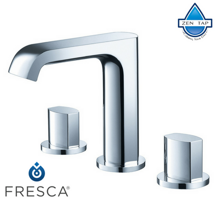 Fresca Tusciano Widespread Mount Bathroom Vanity Faucet