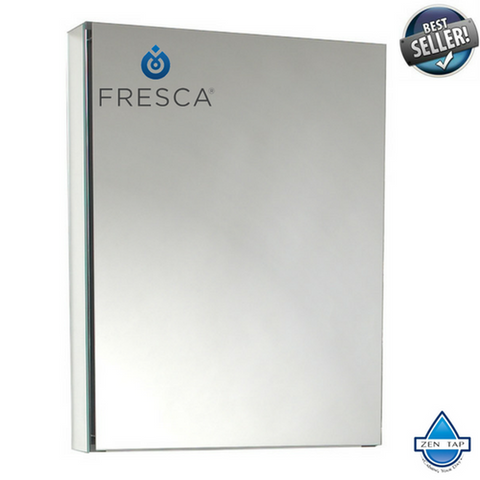 "Fresca 20"" Wide Bathroom Medicine Cabinet w/ Mirrors"