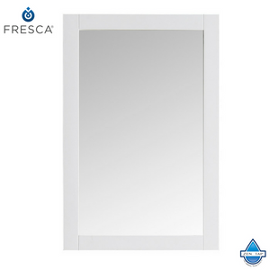 "Fresca Hartford 20"" Traditional Bathroom Mirror"