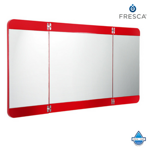 "Fresca Energia 48"" Three Panel Folding Mirror"