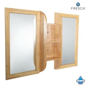 "Fresca Bellezza 54"" Mirrors with Shelf Combination"