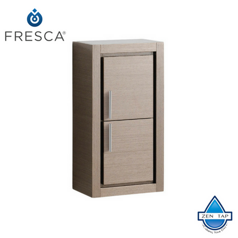 Fresca Allier Bathroom Linen Side Cabinet w/ 2 Doors