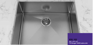 Buy Cantrio Koncepts KSS-105 One Bowl Undermount Stainless Steel Kitchen Sink - Zen Tap Sinks