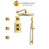 "Latoscana Lady Thermostatic Valve With 3/4"" Ceramic Disc Volume Control"