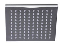 "Alfi Brand LED5001 8"" Square Multi Color LED Rain Shower Head"