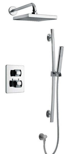 Latoscana Lady Thermostatic Valve with 2 Way Diverter Volume Control