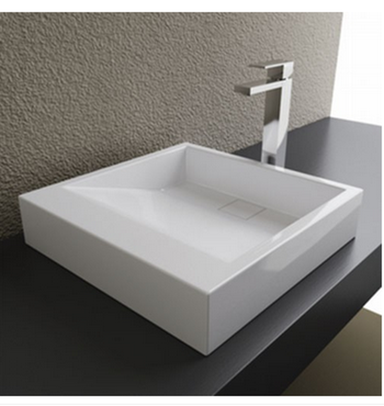 Buy Cantrio Koncepts MMA 18184 Solid Surface Sink With Concealed Drain    Zen Tap Sinks