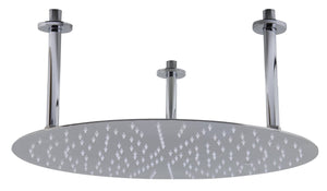 "Alfi Brand RAIN20R 20"" Round Solid Stainless Steel Ultra Thin Rain Shower Head"