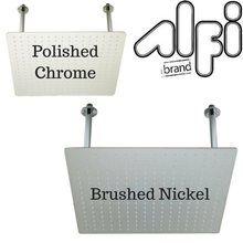 "Alfi Brand RAIN20S 20"" Square Solid Stainless Steel Ultra Thin Rain Shower Head"